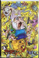 Adventure Time Comics #2 1:15 Calame Variant NM- 1st Print Boom! Studios Comics
