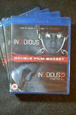 UK release NEW + SEALED Blu-ray Insidious + Insidious 2 Blu-ray Region B