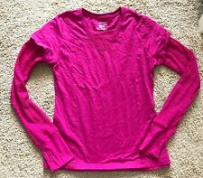 'DANSKIN NOW' WOMENS 'ACTIVE TEE' PINK LONG SLEEVE SHIRT! SIZE Small! REAL NICE!