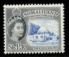 Somaliland 1953 QEII  1/30c Sheikh Isaaq's Tomb SG 145 mint