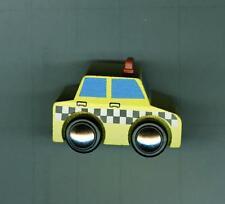 Wood Train Accessory~Little Yellow Taxi~Thomas/Brio/Maxim-Bo ys & Girls 3+