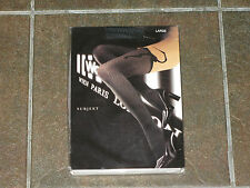 WOLFORD Subjekt Pantyhose Tights Size L Large Black/ Fog RARE DISCONTINUED !!!!