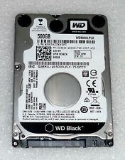 """Excellent! Slim WD Black 500GB SATA 2.5"""" x 7mm Laptop Hard Drive (WD5000LPLX)"""