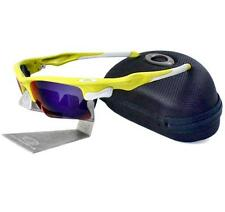 Oakley Custom FAST JACKET XL Lemon Peel Positive Red Iridium Mens OCP Sunglasses