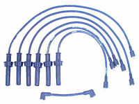 For 1988-1994 Jaguar Vanden Plas Spark Plug Wire Set Denso 55684CD 1989 1990