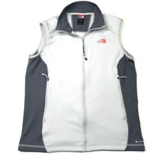 The North Face Mens Vest White Black Flash Dry Collared Outdoor Active Hiking M