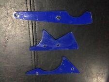 3 Used Bally Dr Dude Pinball Blue Plastics Williams Stern