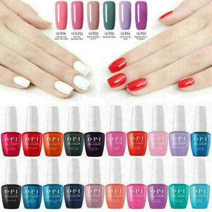 OPI Nail Art Gel Color Polish Soak-off UV/LED Manicure Varnish 155Colors 15 ML
