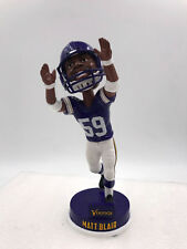 Matt Blair, MN. Vikings NFL GREAT SIGNED Bobblehead W/COA (Ltd. Ed. of 360)