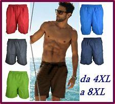 costume da bagno uomo boxer pantaloncini pantaloni corti mare taglie forti short