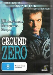 GROUND ZERO - DVD ALL REGIONS (2008) Colin Friels Jack Thompson AS NEW RARE OOP