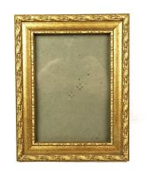 "Vintage Baroque Style Ornate Gold Gesso Photo Picture Frame Fits 7"" x 5"""