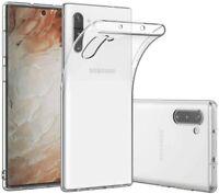 Housse Coque Gel TPU Silicone Souple Transparent Samsung Note 10/Note 10 Plus