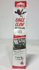 36 Eagle Claw Sz.16 Red 2x Snelled Treble Hooks (673GEH-16) EB070203