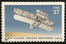 2003 Scott #3783 - 37¢ - FIRST POWERED FLIGHT - Single Mint NH