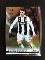 2018 Topps Chrome UEFA Champions League Base Cristiano Ronaldo #100 Juve PSA?