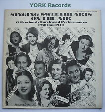SINGING SWEETHEARTS ON THE AIR - Various - Ex Con LP Record Star-Tone ST-203