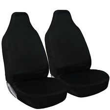 Shield Autocare © Heavy Duty 100% Waterproof Black Car Van Seat Covers 1+1