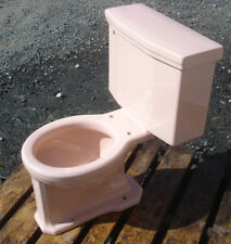 Vintage 1958 Coralin American Standard Toilet -Complete- We Do Freight!
