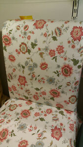 IKEA Henriksdal Chair COVER Videslund Multicolor SLIPCOVER Floral Romantic