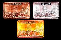 ★★★★ COLLECTION COMPLETE DE 3 MEDAILLES ● LE SACRE DE NAPOLEON ★★★★