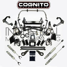 COGNITO MOTORSPORTS 2011-2018 GM 2500HD 4WD 7 INCH STAGE 2 LIFT KIT FOX SHOCKS