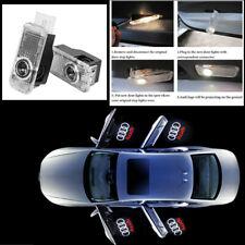 AUDI A1 A3 A4 CAR DOOR ENTRY LED LASER PROJECTOR PUDDLE SHADOW EMBLEM LIGHT x2