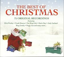 THE BEST OF CHRISTMAS - 3 CD BOX SET - ELVIS PRESLEY, BING CROSBY & MORE