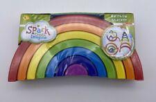 New listing Spark Create Imagine Rainbow Stacker Set New