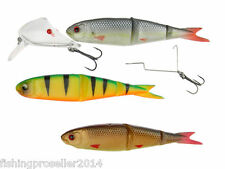 NUOVO 2015 Savage Gear SOFT 9,5 cm 4Play LIP Scull KIT 3 +1 PIKE ZANDER pesce persico bass
