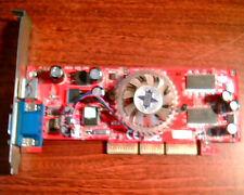 AGP card NVIDIA GeForce 8935 MSI Ver 100 8935-010 VGA TV 64MB
