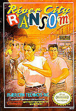 ***RIVER CITY RANSOM NES NINTENDO GAME COSMETIC WEAR~~~