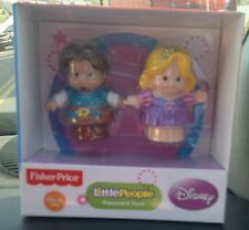 Fisher Price Little People Disney Princess Songs Palace Rapunzel & Flynn NEW box