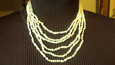 Seed Pearls 6 Strand Necklace BEAUTIFUL!    NWT