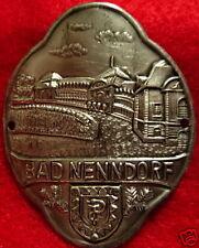 Bad Nenndorf badge medallion shield stocknagel G4840