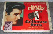 JAILHOUSE ROCK original 1957 movie poster ELVIS PRESLEY