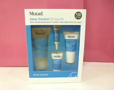 Murad Clear Control 30 Day Kit Featuring Acne Clearing Solution 4 Pcs New in Box