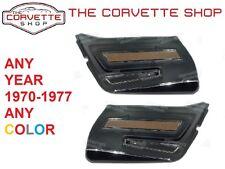 C3 Corvette Deluxe Door Panel Pair 1970-1977  ANY COLOR