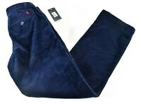 Polo Ralph Lauren Boys Corduroy Pants New size 10 Navy Blue Logo