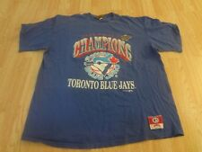 "Men's Toronto Blue Jays XL ""1993 World Series Champions"" T-Shirt Tee Vintage Nut"