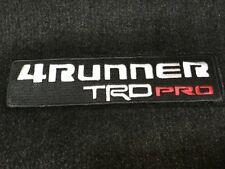 Genuine Toyota 15-19 4Runner TRD PRO Black Carpet Floor Mats Set PT208-89191-20