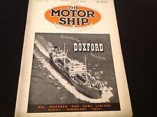 VINTAGE 1950 THE MOTOR SHIP DOXFORD GULLFOSS MS SANDNES WILHELMSEN LINER