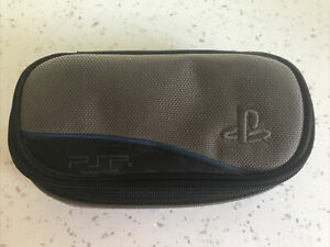 SONY PLAYSTATION PORTABLE PSP OFFICIAL GREY CONSOLE CARRY CASE