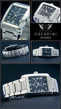 Classy Men's Watch Wiking from the Home Cavadini Sapphire Coated Glass NEW