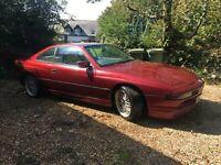 BMW E31 850 ci M70 Calypso Red 1993 spares or repair but runs!