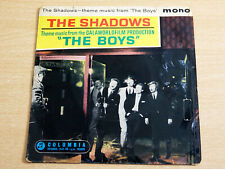 "The Shadows/Theme Music From The Boys/1962 Columbia 7"" Single"