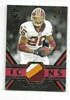 """CLINTON PORTIS 2019 MAJESTIC GOLD ICONS 3 COLOR PATCH """"21/25"""" IM-CP REDSKINS"""