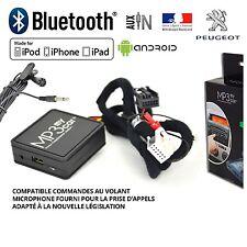 Interface Bluetooth Auxiliaire Mp3 autoradios origine Peugeot Rd4 Après 2006