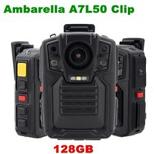 Security Body Camera Police Pocket Guard Recorder HD 1296P Night Vision 128GB
