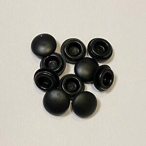 10 x Stopfen für Loch 6mm Verschlussstopfen Gummistopfen Tülle Verschluss neu